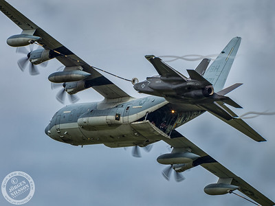 KC-130J and F35B Lightning II