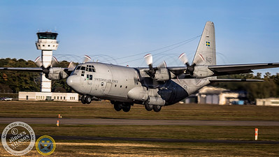 Swedish Air Force C-130 #843.