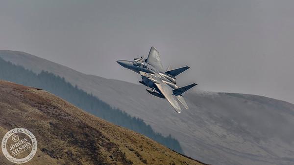 USAF F15 Eagle