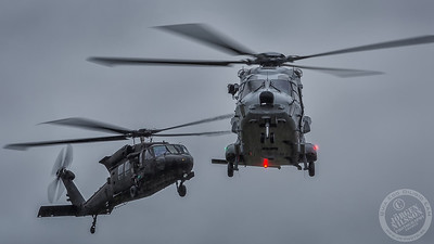 NH90 and UH-60M Black Hawk