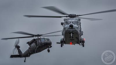 NH90 and UH-60M Black Hawk