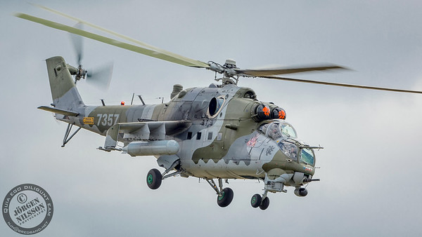 Czech Air Force Mil Mi-24V