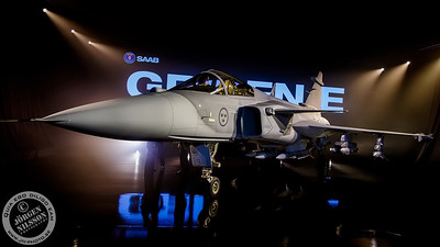 SAAB JAS 39E  Gripen roll out
