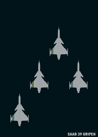 SAAB 39 Gripen - Sweden