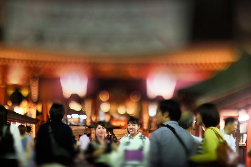 Senso-ji Temple - 浅草寺観音堂