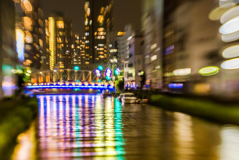 flow of the light - 光の川