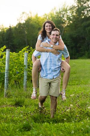 Picnic in a vineyard