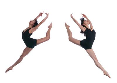 Ballet Mirror Jump