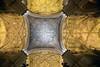 Seville / Spain – September 14 2018: Ceiling of Seville Cathedral