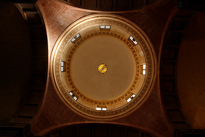 Dome of a church in Marsala on the island of Sicily, Italy