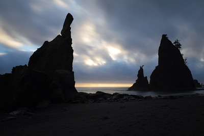 Rialto Beach Sea Stacks | Olympic National Park