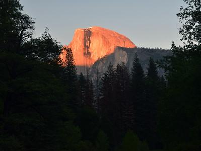 Half Dome Sunset | Yosemite National Park