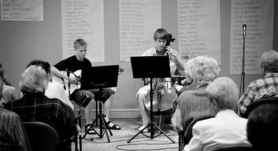 Austin and Joel's concert at the Summit