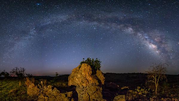 Milky Way Over Llano, Tx
