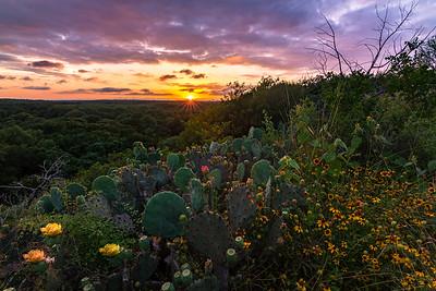 San Marcos Summer Sunset