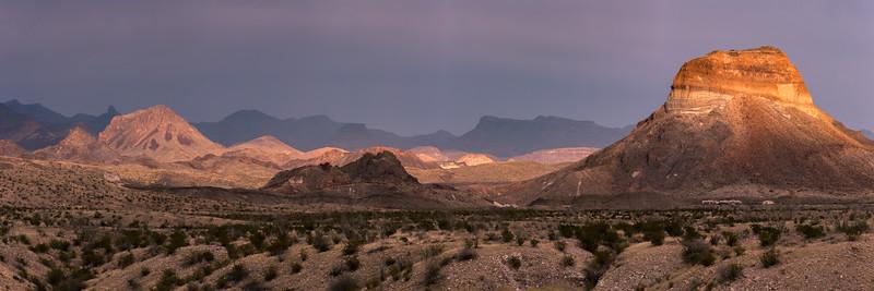 Cerro Castolon in the Spotlight