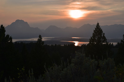 Jackson Lake Sunset | Grand Teton NP