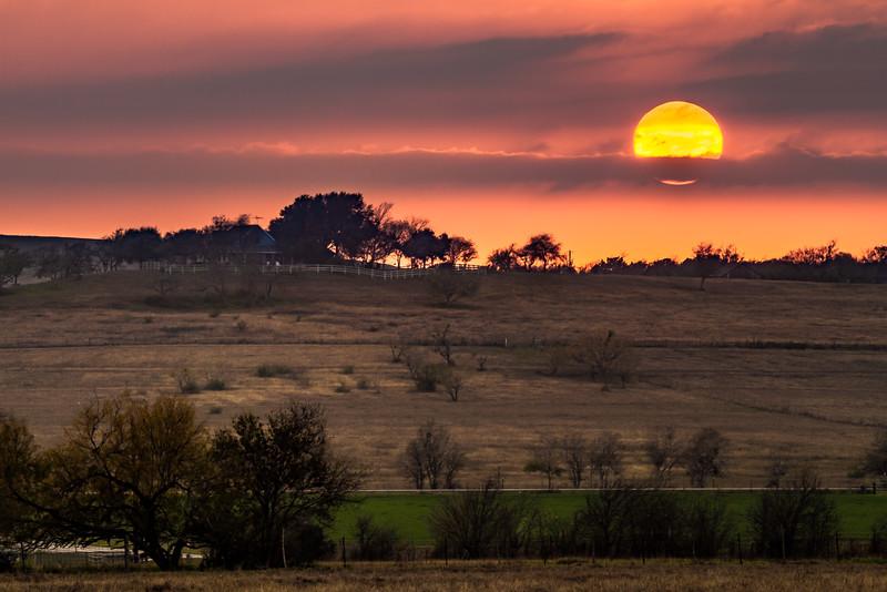 Farmhill Sunset