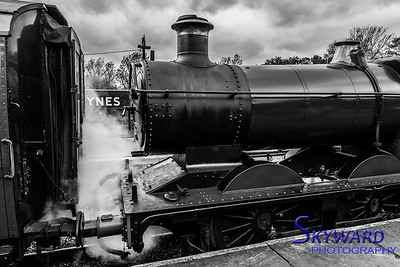 2251 Class No 3205 at Horsted Keynes, Bluebell Railway