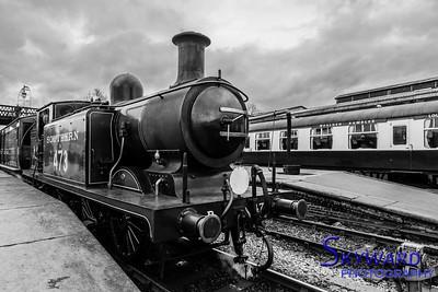 E4 No 473, Sheffield park, Bluebell Railway