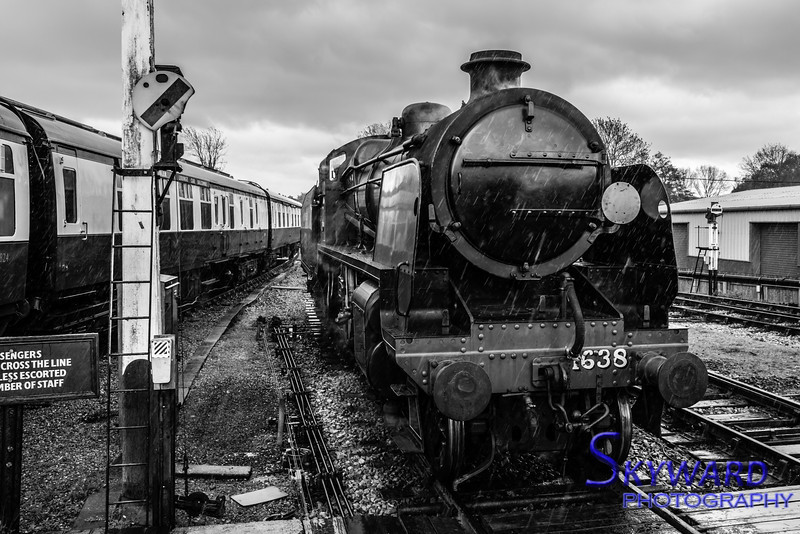 U Class No 1638, Sheffield Park, Bluebell Railway