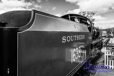 U Class No 1638, Sheffield Park, Bluebell Railway