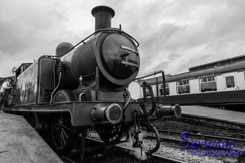 E4 No 473, Sheffield park, Bluebell Railway