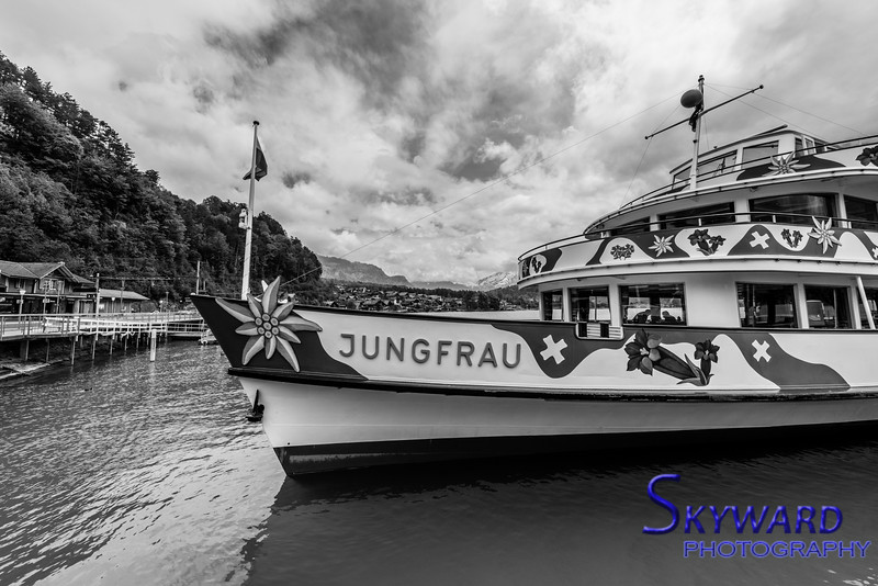 Jungfrau At Dock
