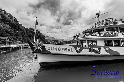 Jungfrau At Dock