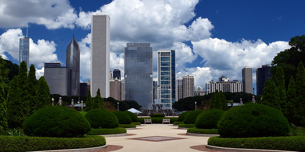 Grant Park & Chicago Skyline | Chicago, IL