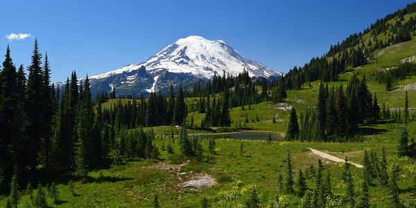 """""""Majesty""""   Mount Rainier National Park"""