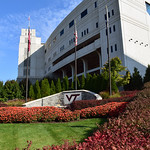 Lane Stadium Fall | Virginia Tech Campus