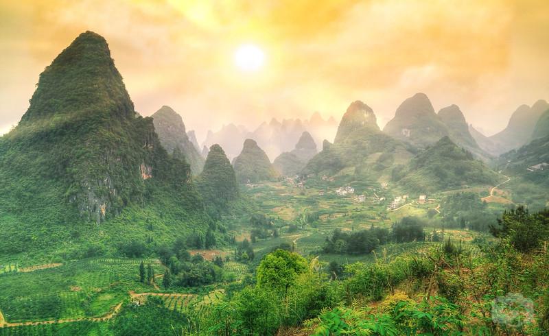 Heaven's Landscape