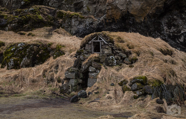 Old Icelandic Home