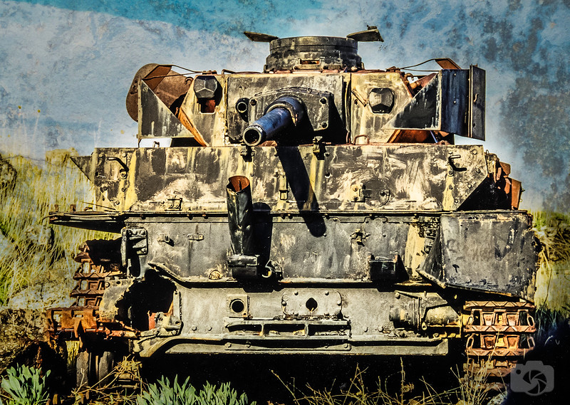 A Tank from the Yom Kippur War