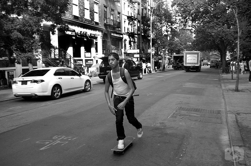 Skating Down St. Mark's
