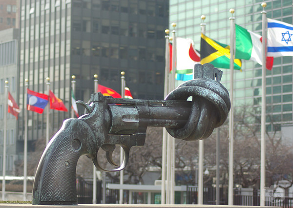 Sculpture at the United Nations