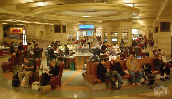 Inside Grand Central Terminal