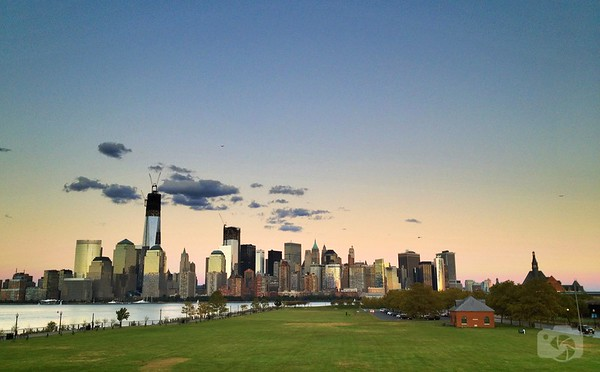 Downtown Manhattan from Liberty State Park, NJ
