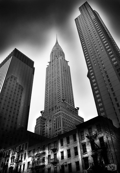 The Old and the New - Chrysler Building