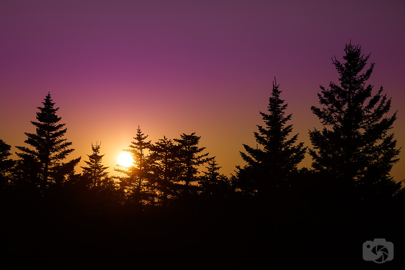 Sunset Over Mount Cadillac