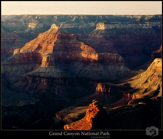 Grand Canyon view from Bright Angel Trail, South Rim