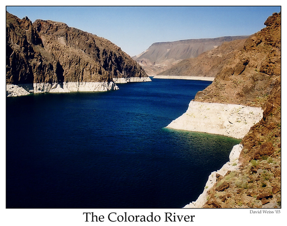 Colorado River near Hoover Dam