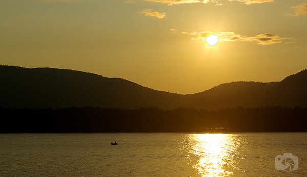 Sunset at Lake George