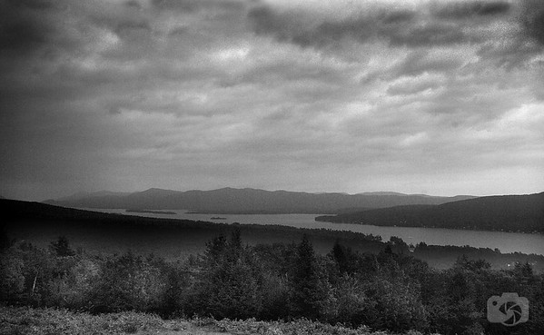 Storm over Lake George