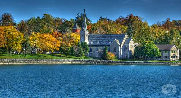 Church on Skaneateles Lake - New York