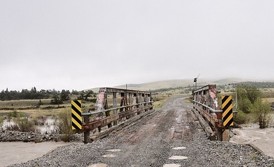 The bridge by the ranch, before it was closed  Copyright (C) 2008 Doug Wieringa