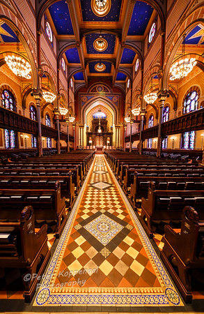 Aisle III,Central Synagogue, New York City