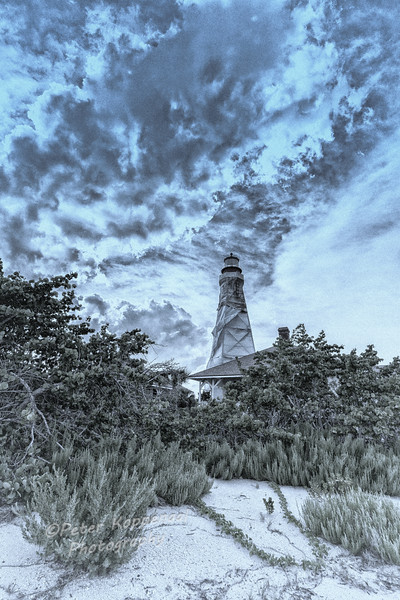 Vintage Sanibel Lighthouse (CEFx4)