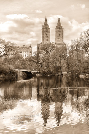 BW Sepia Central Park West (CEP 4)